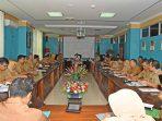 Bupati Kabupaten Natuna Drs. H. Abdul Hamid Rizal, M.Si saat memimpin jalannya kegiatan